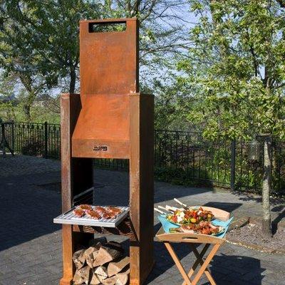 Janco de Jong JAbq incl. RVS BBQ rooster
