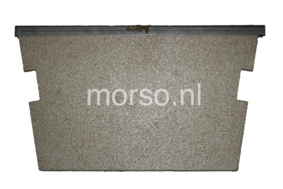 Morsø onderdelen - Metalen rand vermiculite vlamplaat 1710