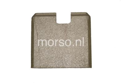 Morsø onderdelen - Steen achter vermiculite 2B serie