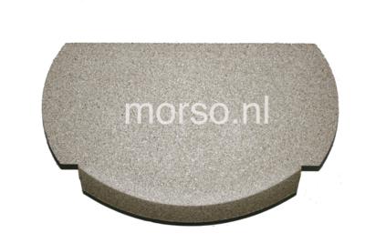 Morsø onderdelen - Vlamplaat boven vermiculite 6100 serie