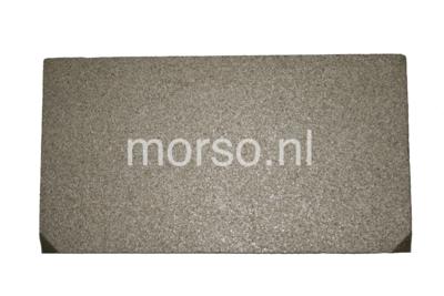 Morsø onderdelen - Vlamplaat boven vermiculite 8100 serie