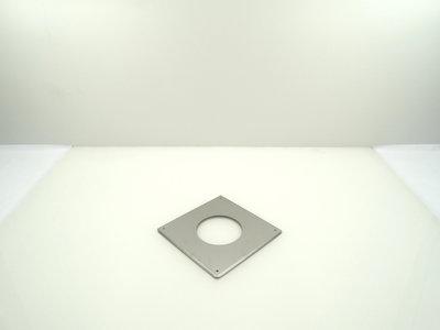 Metaloterm muurplaat/montageplaat sfeerverwarming USMPG