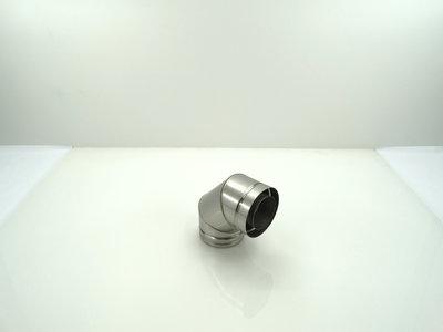 Metaloterm bocht 90º sfeerverwarming USB 90