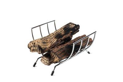 Happy Cocooning - houder keramische houtblokken / wijnrek