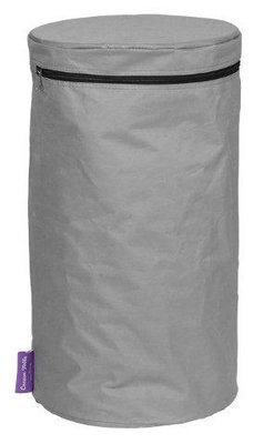 Happy Cocooning - PVC cover bijzettafel LPG tank rond antraciet 31x31x58,5 cm