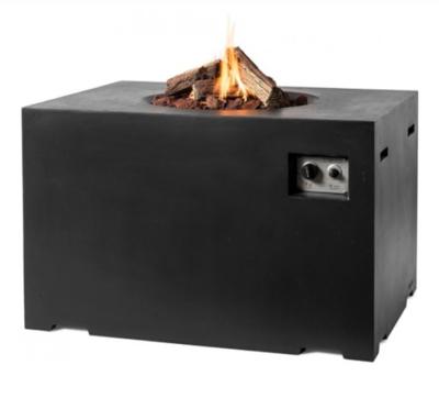 Happy Cocooning - Cocoon table rechthoek lounge & dining zwart 107x80x67 cm