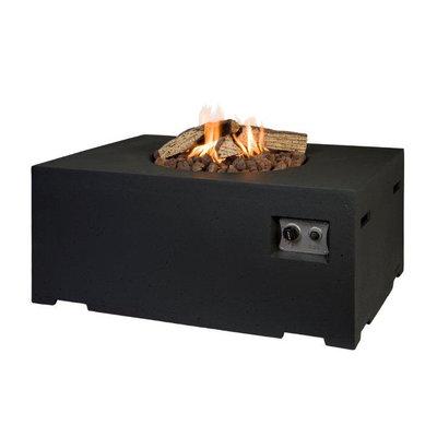 Happy Cocooning - Cocoon table rechthoek zwart 114x87x55 cm