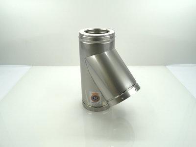 Metaloterm T-stuk 45° ATT45 AT